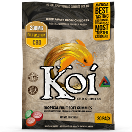 Koi Hemp Extract CBD Gummies - San Mateo Sports Nutrition