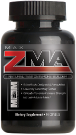 ZMA : Natural Testosterone Builder by Max Muscle Nutrition - San Mateo Sports Nutrition