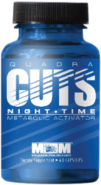 QUADRA CUTS NIGHT TIME by Max Muscle Nutrition - San Mateo Sports Nutrition