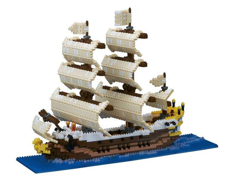 ננובלוק - ספינת מפרשים / Sailing Ship NB030-Nanoblock-Shoppu