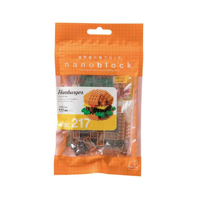 ננובלוק - המבורגר / Hamburger NBC217-Nanoblock-Shoppu