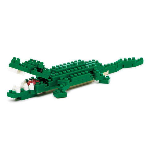 ננובלוק - תנין / Nile Crocodile NBC058-Nanoblock-Shoppu