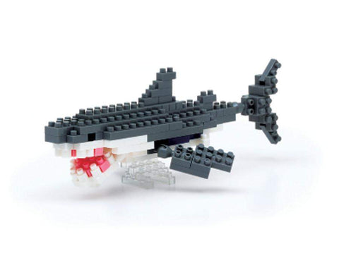 ננובלוק- כריש לבן / Great White Shark NBC082-Nanoblock-Shoppu