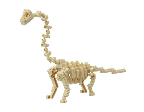 ננובלוק - שלד בראקיוסורוס / Brachiosaurus Skeleton Model NBC114