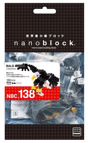ננובלוק- נשר / Bald Eagle NBC138-Nanoblock-Shoppu