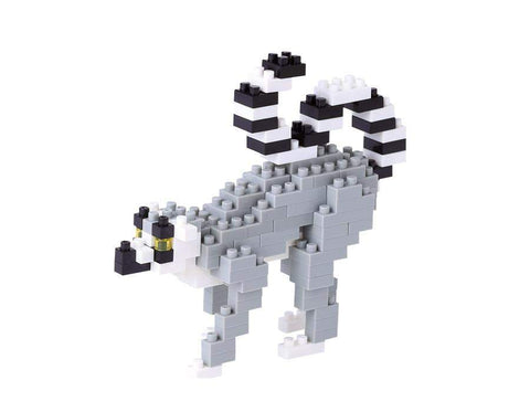 ננובלוק - למור / Ring-Tailed Lemur NBC166-Nanoblock-Shoppu