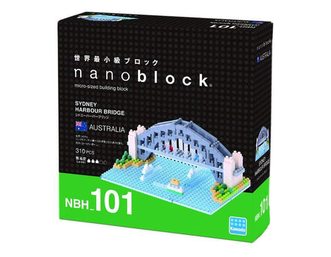 ננובלוק - גשר סידני הרבור / Sydney Harbour Bridge NBH101-Nanoblock-Shoppu