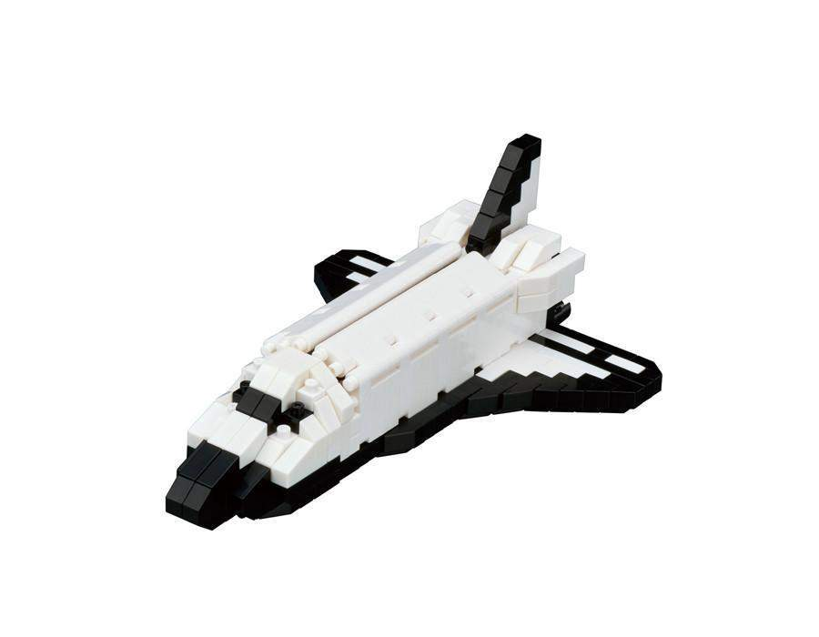 ננובלוק - מעבורת חלל / Space Shuttle Orbiter NBH128-Nanoblock-Shoppu