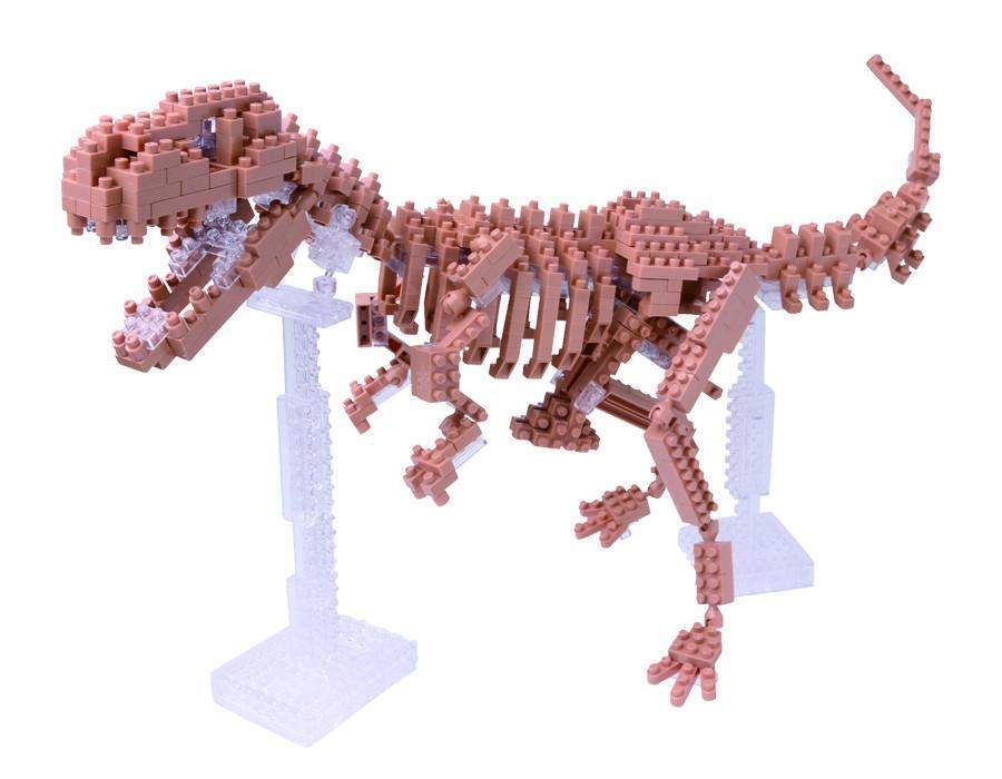 ננובלוק - שלד טי-רקס / T-rex Skeleton Model NBM012