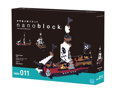 ננובלוק - ספינת פיראטים / Pirate Ship NBM011-Nanoblock-Shoppu