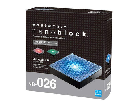 ננובלוק - פלטת לד / Led Plate USB NB026-Nanoblock-Shoppu