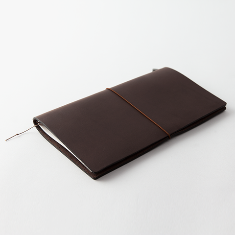 מחברת מסע גדולה חומה- Traveler's Brown Notebook-Midori-Shoppu