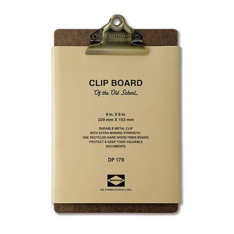 לוח קליפ / Penco Clipboard A5- ברונזה