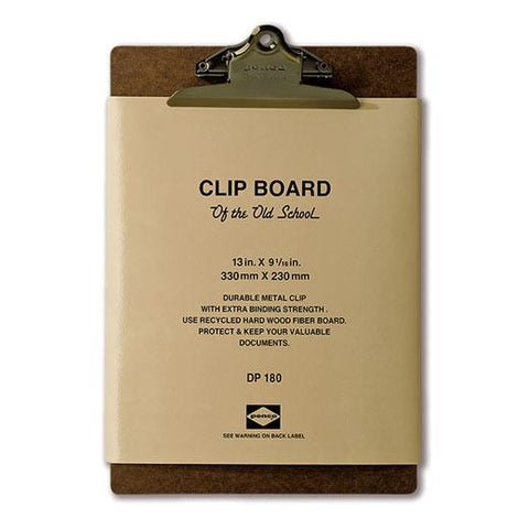לוח קליפ / Penco Clipboard A4- ברונזה