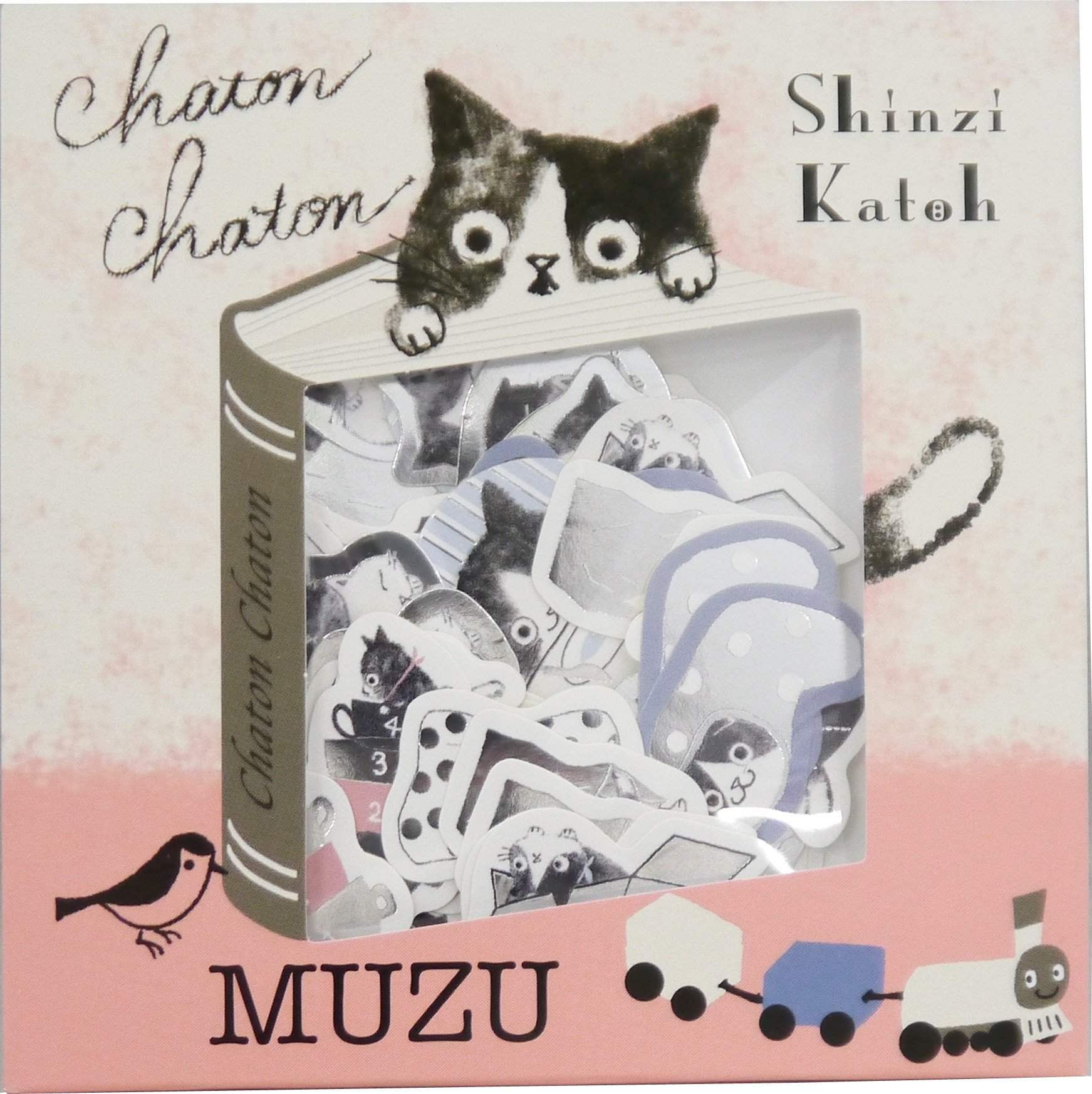 מדבקות סיפור - Chaton Chaton-Shinzi Katoh - SD-Shoppu