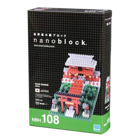 ננובלוק - מקדש אינארי / Inari Shrine NBH108-Nanoblock-Shoppu