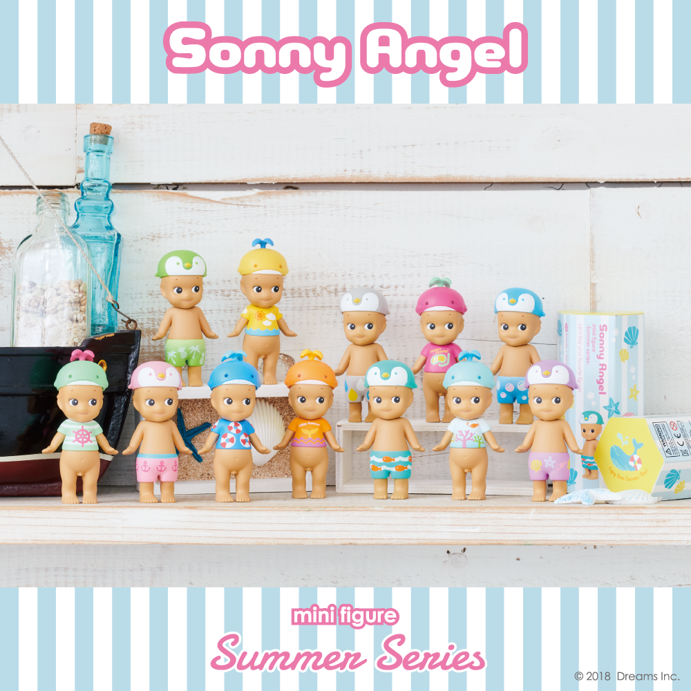 סוני אנג'ל - סדרת קיץ 2018 / Summer vacation series 2018-Sonny Angel-Shoppu