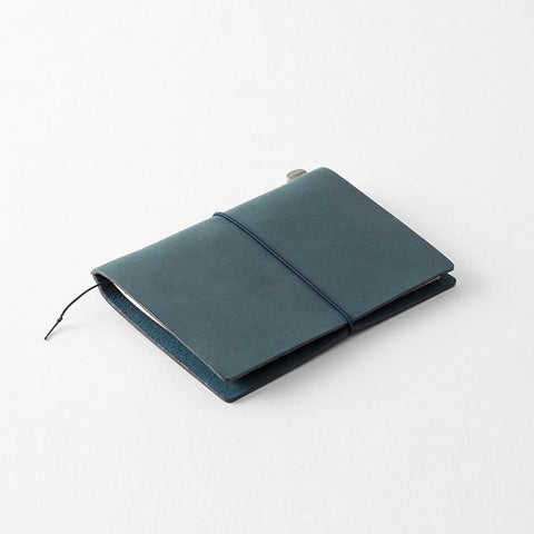 מחברת מסע פספורט כחולה- Traveler's Blue Passport Notebook-Midori-Shoppu