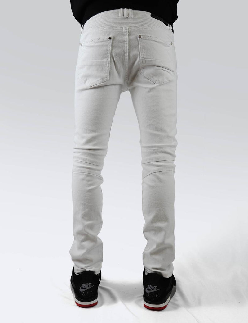 Preme Jeans-Moscow White Jeans-White