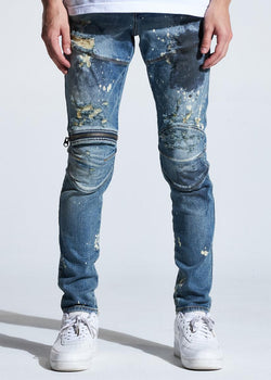 Crysp Denim-Bart-Indigo Paint