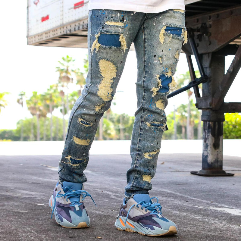 THRT-Smurf Denim-Blue