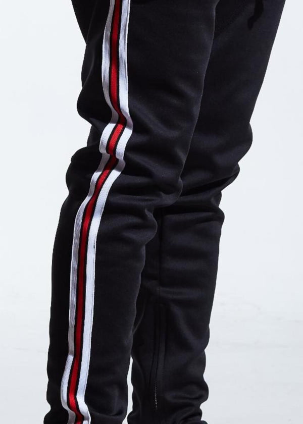 Karter Collection-Rogers Track Pants-Black