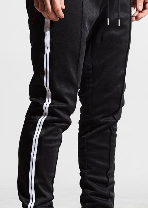 Karter Collection-Nick Track Pants-Black