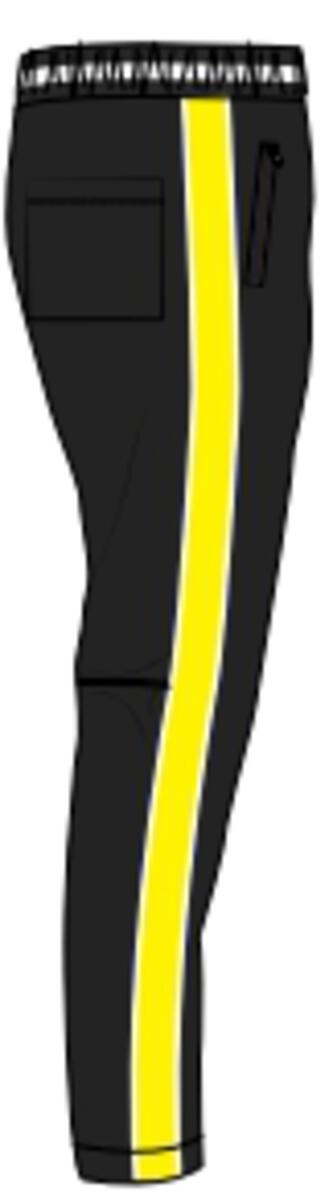 Karter Collection-Volt Track Pants-Black