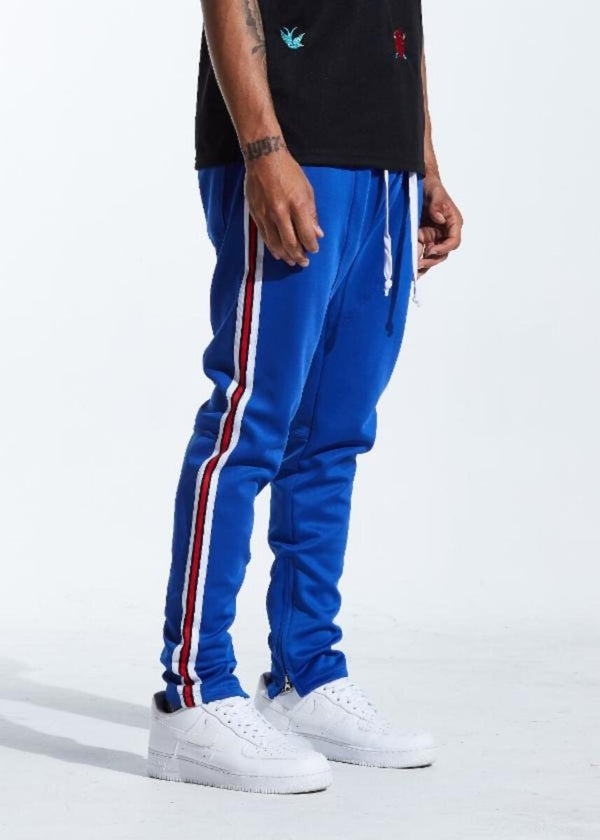 Karter Collection-Rogers Track Pants-Royal Blue