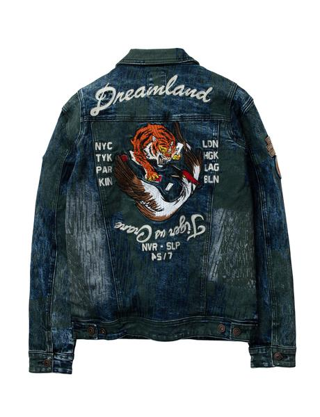 Dreamland-Conflict Denim Jacket