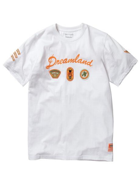 Dreamland-Teknique S/S Tee-White