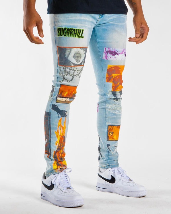 Sugarhill-Sunset Jeans-Light Wash