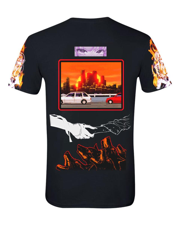 Sugarhill-Sunset T-Shirt-Black