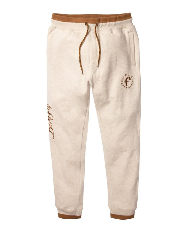 Born Fly-Artois Sweatpants-Oatmeal