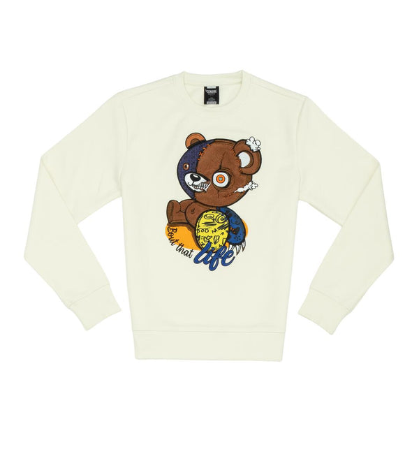 Genuine-Bear Life Crewnecks-Natural