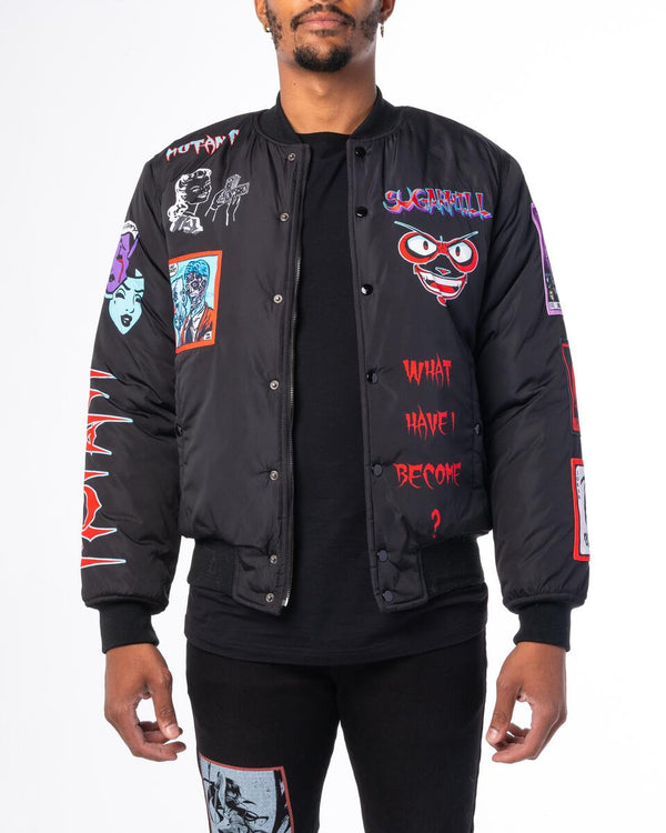 Sugarhill-Mutant Bomber-Black