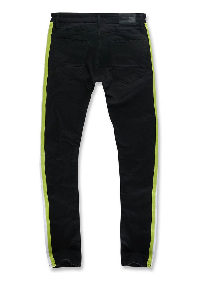 Jordan Craig-Lime Green Stripe-Black Volt-JM3385A