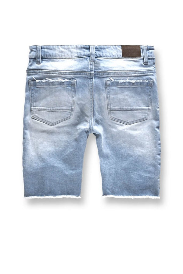 Jordan Craig Kids-Brigantine Denim Shorts-Ice Blue-J3151SK