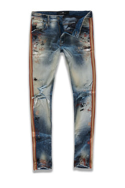 Jordan Craig-Talladega Striped Denim-Summer Storm-JM3403