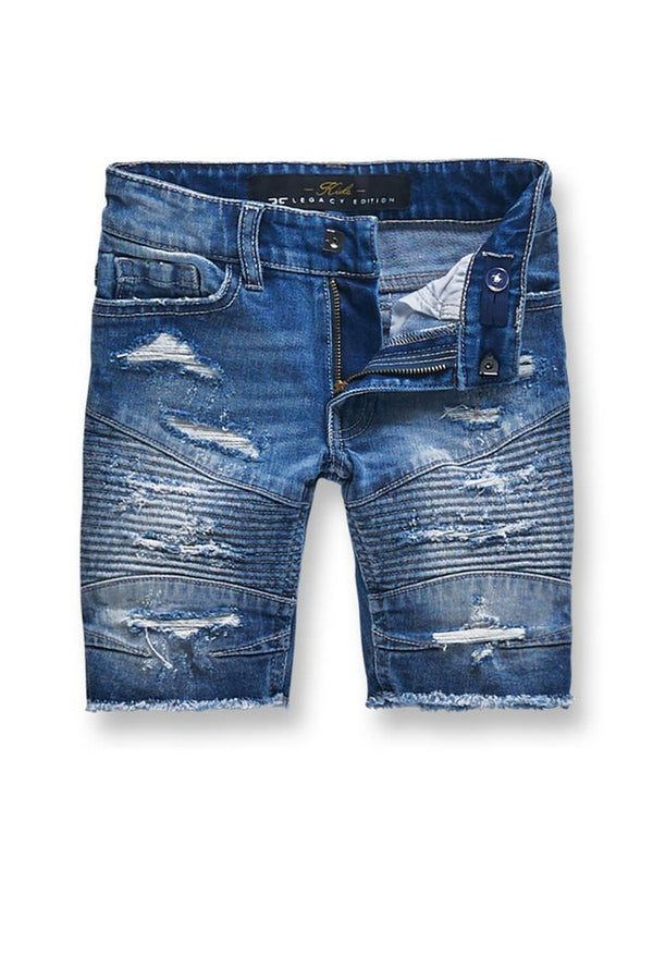 Jordan Craig Kids-Brigantine Denim Shorts-Aged Wash-J3151SK