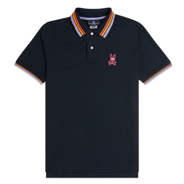Psycho Bunny-Men's Millton Polo-Navy