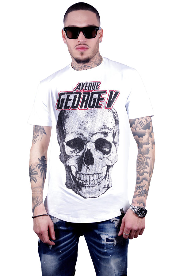 George V Paris MEN'S TEE-SHIRT-GV2015 White