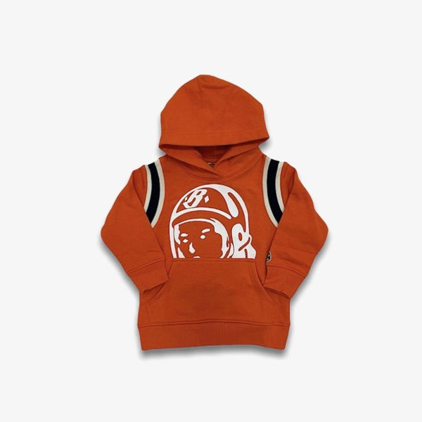 B.B.C Kids-BB Helmet Hoodie-Red Orange