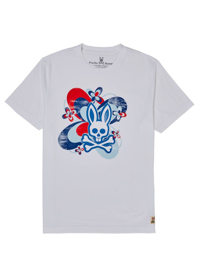 PSYCHY BUNNY Connaught Graphic Tee-B6U786J1PC