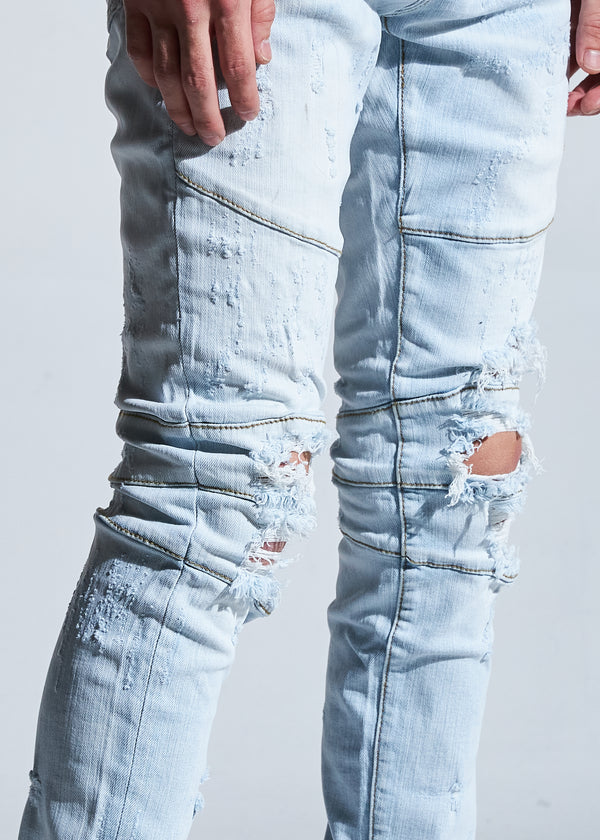 Crysp Denim-Hudson Skinny Jeans-Light Blue