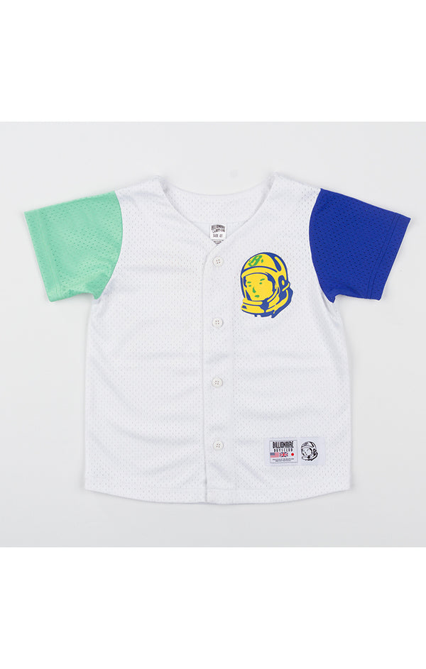 B.B.C Kids-BB Home Base S/S Jersey-White
