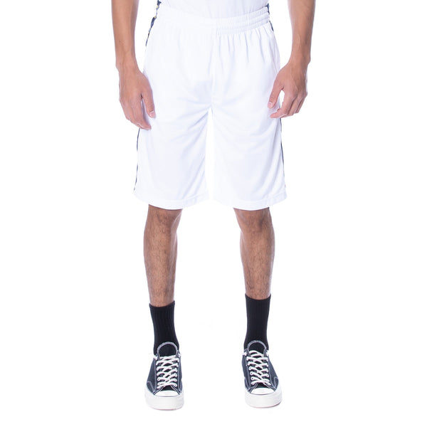 Kappa-222 Banda Treadwellz Shorts-White/Blue Md-304KQ20
