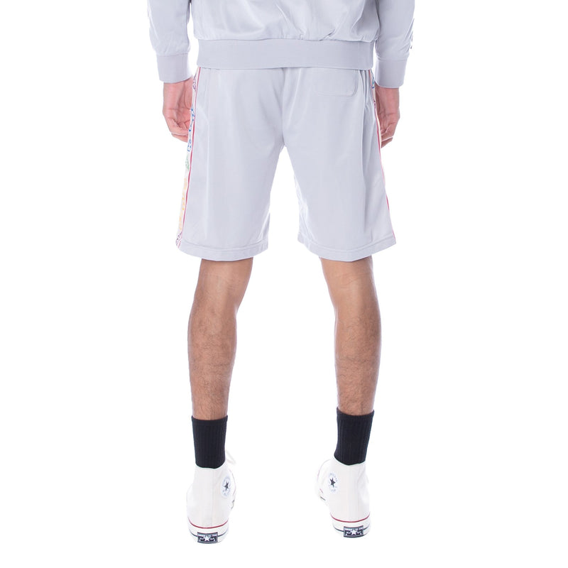 Kappa-Tape Aedi Shorts-Grey/White Rock-304PVB0