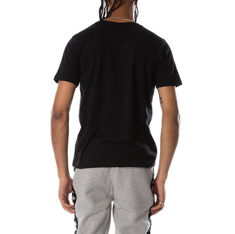 Kappa-Dris Reflective Tee-Black/Yellow Reflective-3113L7W