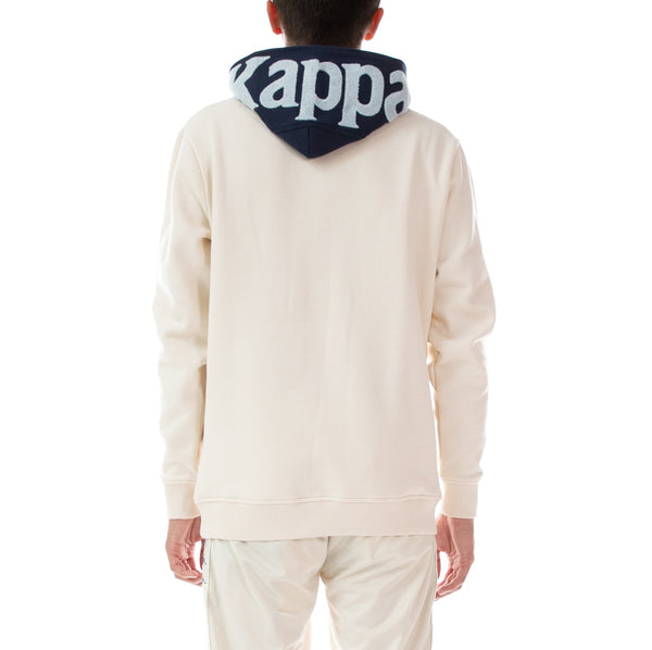 KAPPA-AUTHENTIC DAVE Egg Shell HOODIE 33116CW